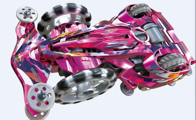 一张图看懂零速四驱车的玩法!